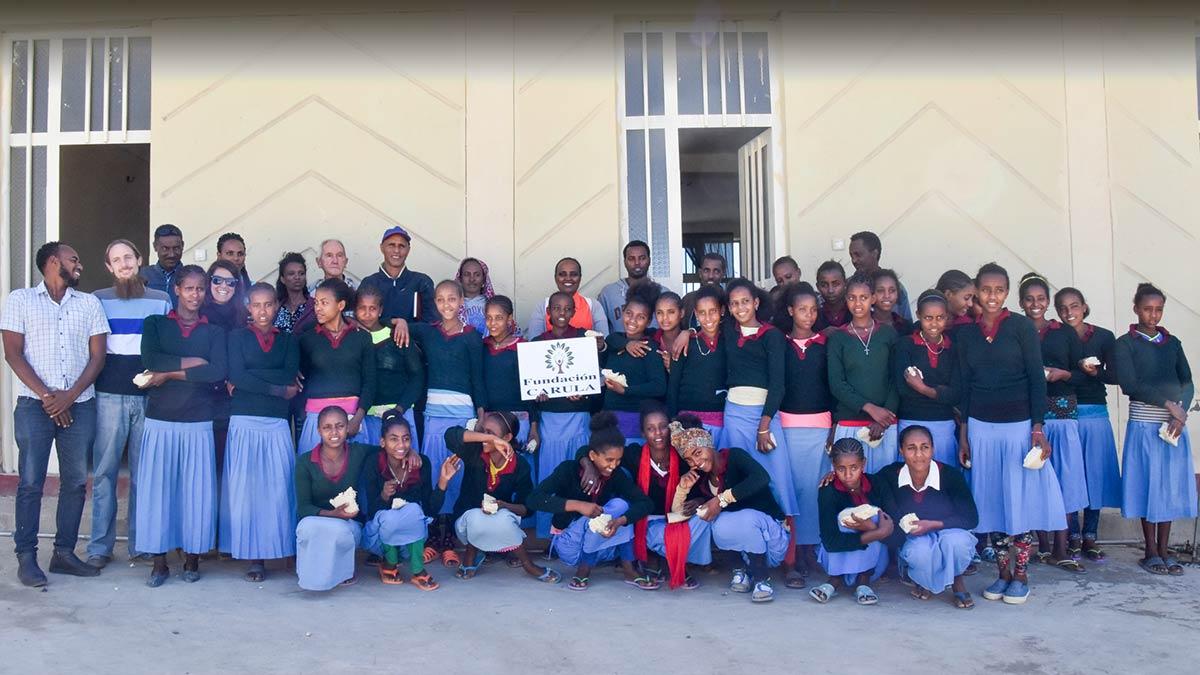 Fundación Carula Education For Girls - Homeslide 7